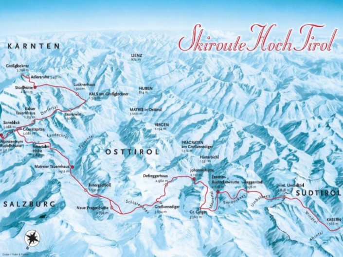Schiroute Hoch Tirol